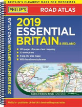 Omslag - Philip's 2019 Essential Road Atlas Britain and Ireland - Spiral A4