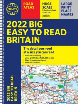 Omslag - 2022 Philip's Big Easy to Read Britain Road Atlas