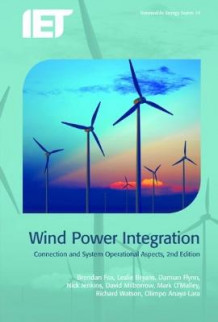 Wind Power Integration av Brendan Fox, Leslie Bryans, Damian Flynn, Nick Jenkins, David Milborrow, Mark O'Malley, Richard Watson og Olimpo Anaya-Lara (Innbundet)