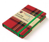 Omslag - Waverley Scotland Large Tartan Cloth Commonplace Notebook - Royal Stewart Tartan