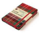 Omslag - Waverley Scotland Large Tartan Cloth Commonplace Notebook - Caledonia Tartan