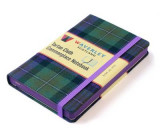 Omslag - Waverley Scotland Large Tartan Cloth Commonplace Notebook - Isle of Skye Tartan