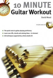 10 Minute Guitar Workout av David Mead (Blandet mediaprodukt)