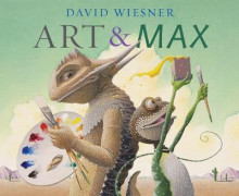Art and Max av David Wiesner (Heftet)