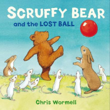 Scruffy Bear and the Lost Ball av Christopher Wormell (Heftet)
