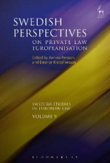 Omslag - Swedish Perspectives on Private Law Europeanisation