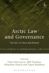 Omslag - Arctic Law and Governance