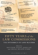 Omslag - Fifty Years of the Law Commissions
