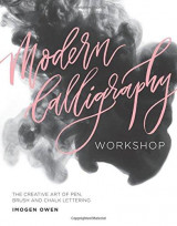 Omslag - Modern calligraphy workshop