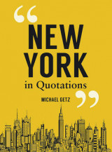 Omslag - New York in Quotations