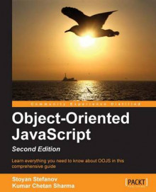 Object-Oriented JavaScript av Stoyan Stefanov og Kumar Chetan Sharma (Heftet)