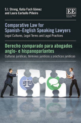 Omslag - Comparative Law for Spanish-English Speaking Lawyers