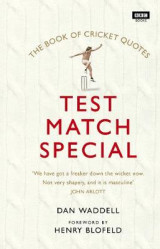 Omslag - The Test Match Special Book of Cricket Quotes