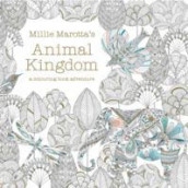 Omslag - Animal Kingdom. A colouring book adventure