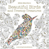 Omslag - Millie Marotta's Beautiful Birds and Treetop Treasures