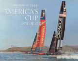 Omslag - The Story of the America's Cup 1851- 2013