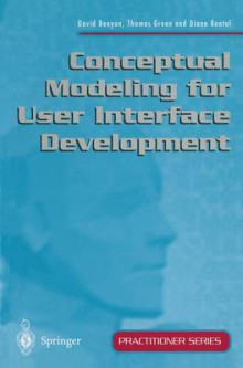 Conceptual Modeling for User Interface Development av David Benyon, etc., Thomas Green og Diana Bental (Heftet)