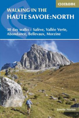 Omslag - Walking in the Haute Savoie: North