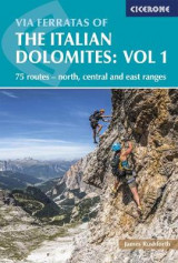 Omslag - Via Ferratas of the Italian Dolomites Volume 1