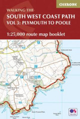 Omslag - South West Coast Path Map Booklet - Plymouth to Poole