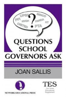 Questions School Governors Ask av Joan Sallis (Heftet)