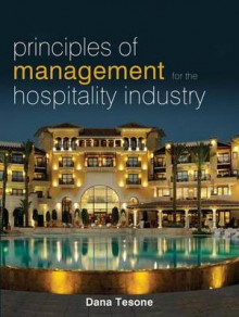 Principles of Management for the Hospitality Industry av Dana V. Tesone (Heftet)