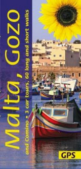 Omslag - Malta, Gozo and Comino: 3 car tours, 60 long and short walks