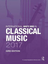 Omslag - International Who's Who in Classical Music 2017