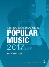 Omslag - International Who's Who in Popular Music 2017