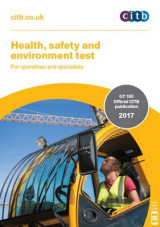 Omslag - Health, Safety and Environment Test for Operatives and Specialists: GT 100/17 2017