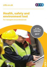 Omslag - Health, Safety and Environment Test for Managers and Professionals: Gt 200/17 2017