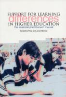Support for Learning Differences in Higher Education av Geraldine Price og Janet Skinner (Heftet)