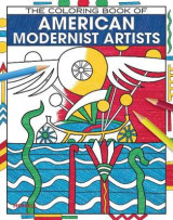 Omslag - The Coloring Book of American Modernist Artists