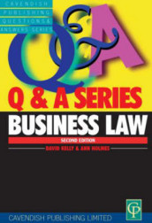 Business Law Q&A av Ann E.M. Holmes og David Kelly (Heftet)