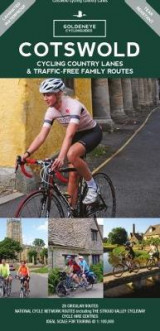 Omslag - Cotswold Cycling Country Lanes & Traffic-Free Family Routes