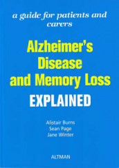 Alzheimer's Disease and Memory Loss Explained av Alistair S. Burns, Sean Page og Jane Winter (Heftet)