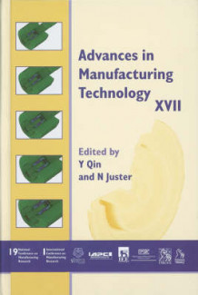 Advances in Manufacturing Technology XVII 2003 (Innbundet)
