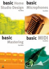Studio Recording Basics: WITH Basic Home Studio Design AND Microphones AND Mastering AND MIDI Pt. B av Robbie Gladwell, David Mead og Paul White (Heftet)