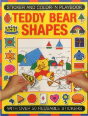 Sticker and Color-in Playbook: Teddy Bear Shapes av Michael Johnstone og Jenny Tulip (Heftet)
