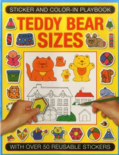 Sticker and Color-in Playbook: Teddy Bear Sizes av Michael Johnstone og Jenny Tulip (Heftet)