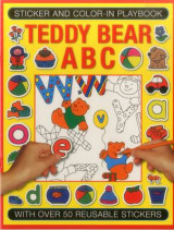 Omslag - Sticker and Colour-in Playbook: Teddy Bear ABC
