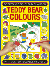 Sticker and Color-in Playbook: Teddy Bear Colors av Michael Johnstone (Heftet)