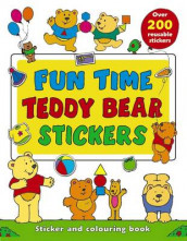 Fun Time Teddy Bear Stickers av Michael Johnstone (Heftet)