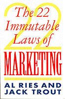 Omslag - The 22 Immutable Laws Of Marketing