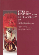 Omslag - Dyes in History and Archaeology 19