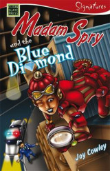 Omslag - Madam Spry and the Blue Diamond