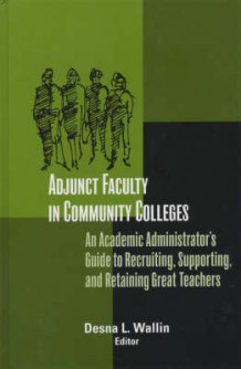 Adjunct Faculty in Community Colleges (Innbundet)