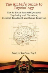 Omslag - Writer's Guide to Psychology
