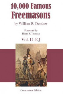 10,000 Famous Freemasons av William R Denslow (Heftet)