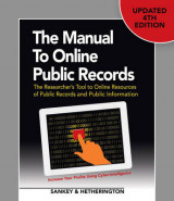 Omslag - The Manual to Online Public Records